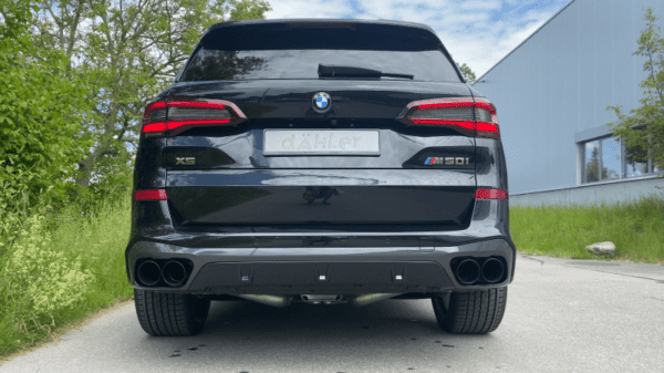 BMW X5 M50i cat-back exhaust