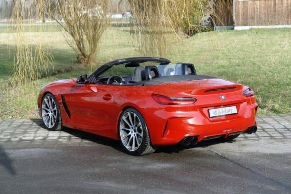 Glass Wind Deflector | BMW Z4 Roadster G29