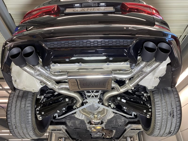 BMW X4 M Competition F98 exhaust | X3 M Competition F97 exhaust
