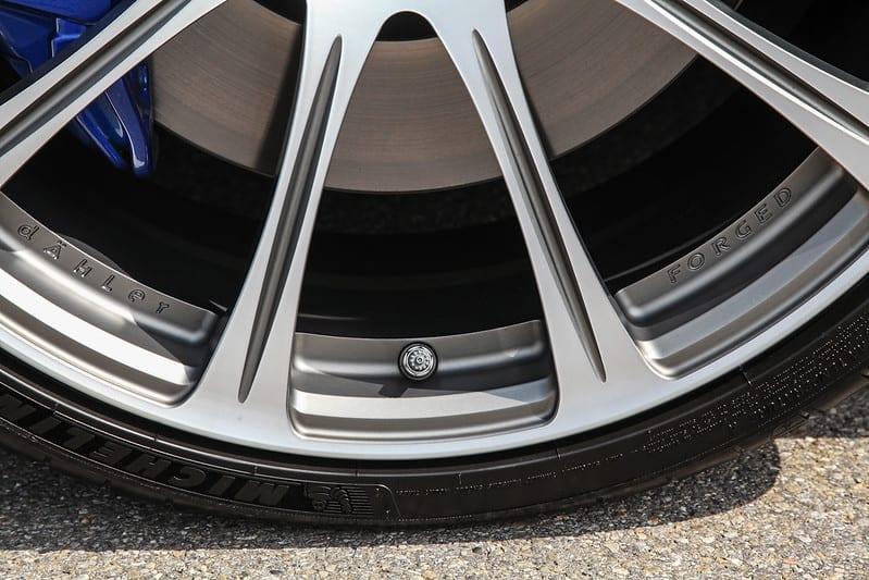 dAHLer Forged wheel