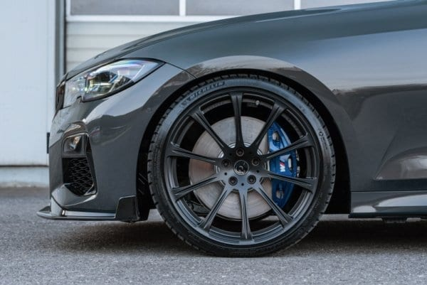 20 inch forged wheels | front splitter | BMW 3 series G20 G21