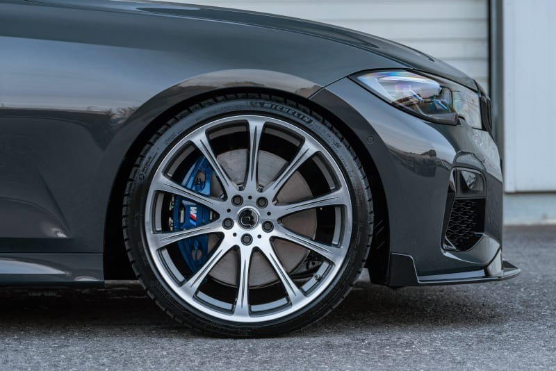 20 inch wheels | front splitter | 20 inch forged wheels | front splitter | BMW 3 series G20 G21