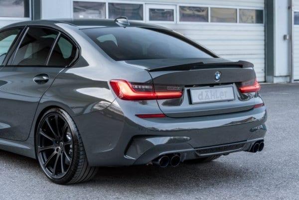 BMW M340i xDrive exhaust system