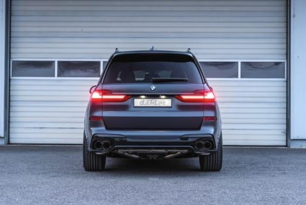BMW X7 M50i exhaust G07