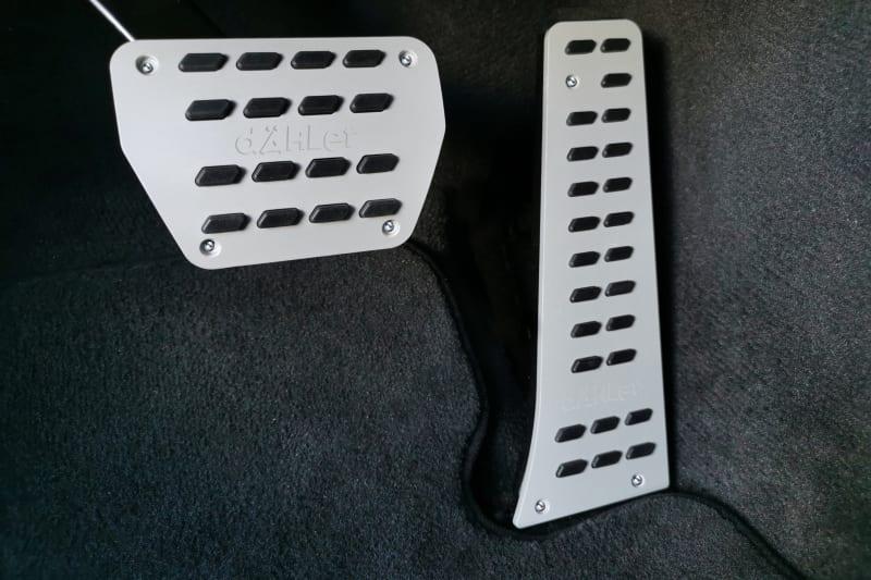 Aluminum Pedal Pads BMW