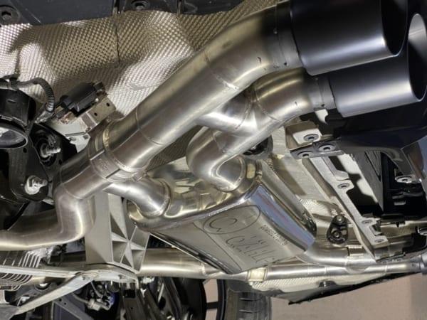 BMW M3 G80 Sedan Exhaust