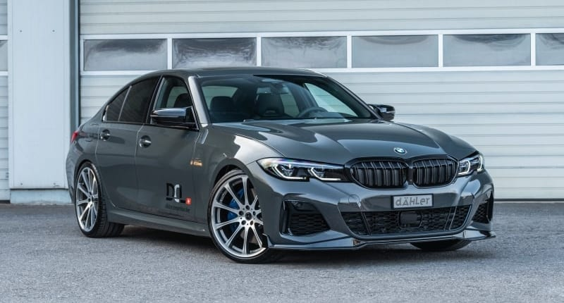 BMW G20 Sedan   Front Splitter   Kidney Grille   Mirror Caps   Tuning