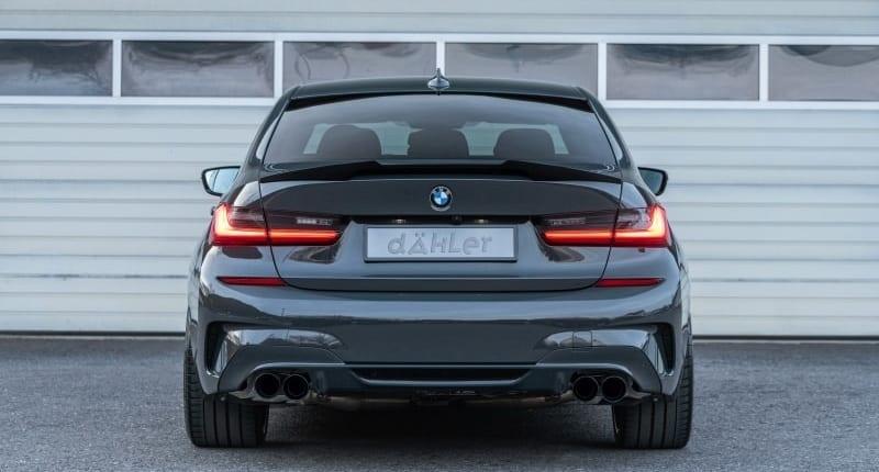 BMW G20 Sedan   Carbon Spoiler   Exhaust   Front Splitter   Kidney Grille   Mirror Caps   Tuning