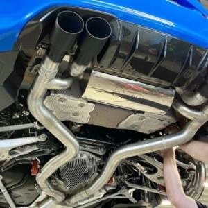 BMW M2 CS tuning spoiler carbon wheels exhaust